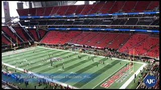 Falcons-Panthers Pregame Time Lapse thumbnail