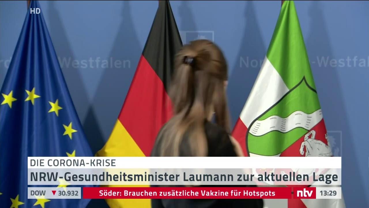 Corona LIVE: NRW-Gesundheitsminister Laumann zur aktuellen Lage