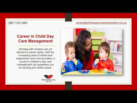 Career in Child Care Courses Adelaide