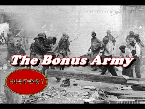 History Brief: Hoovervilles and the Bonus Army - YouTube