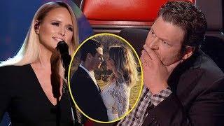 Blake Shelton's mood was really not OK to know that Miranda Lambert was pregnant