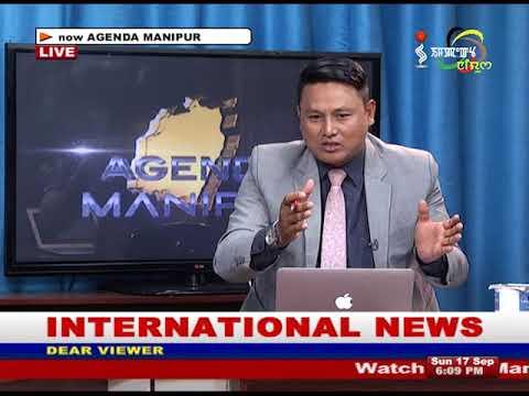 Agenda Manipur 17 September 2017
