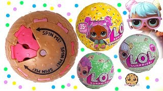 LOL Surprise Doll Series 3 Confetti POP ! SPIN Surprise Blind Bag Ball Toy Video - Stafaband