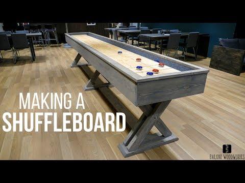 Making A SHUFFLEBOARD! (Brunswick Style)