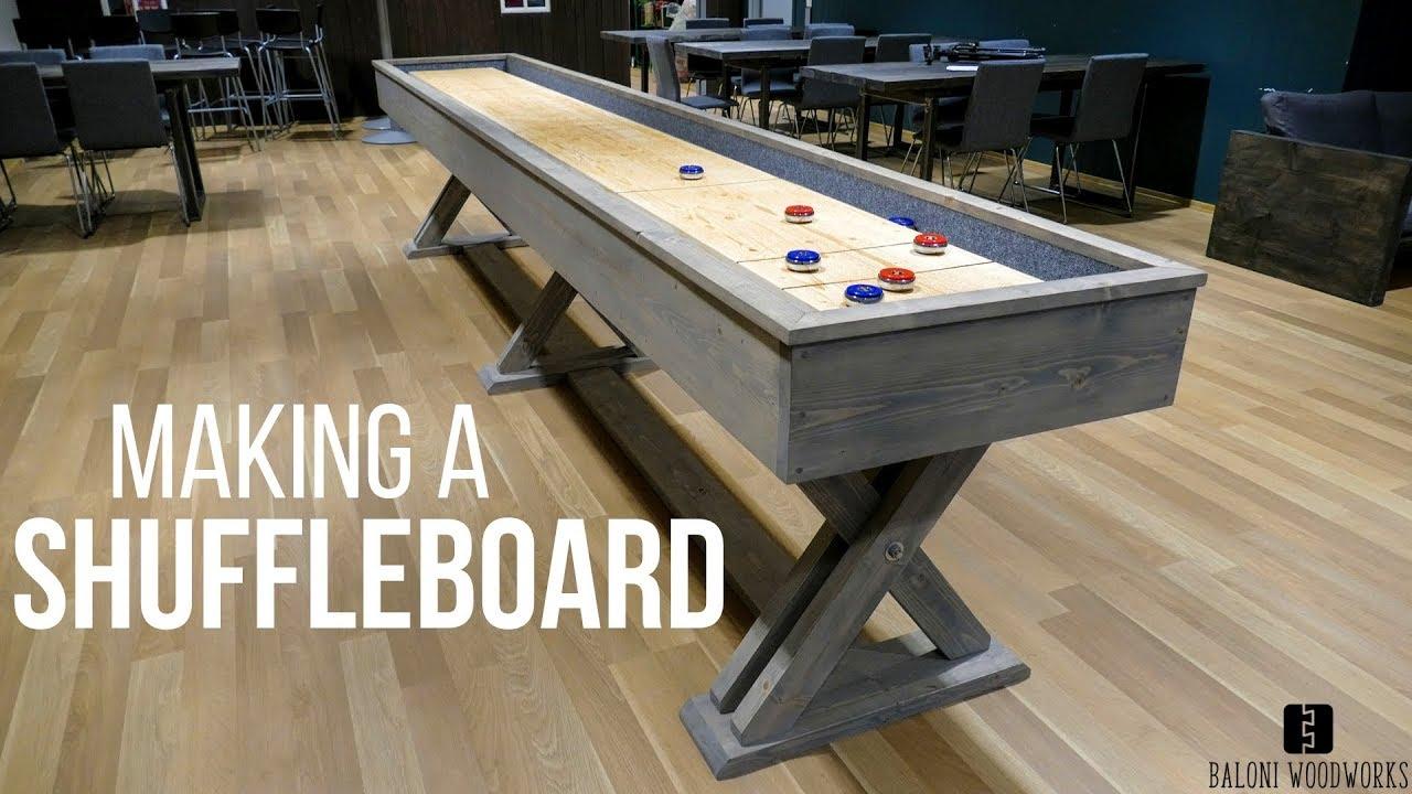 Making A Shuffleboard Brunswick Style