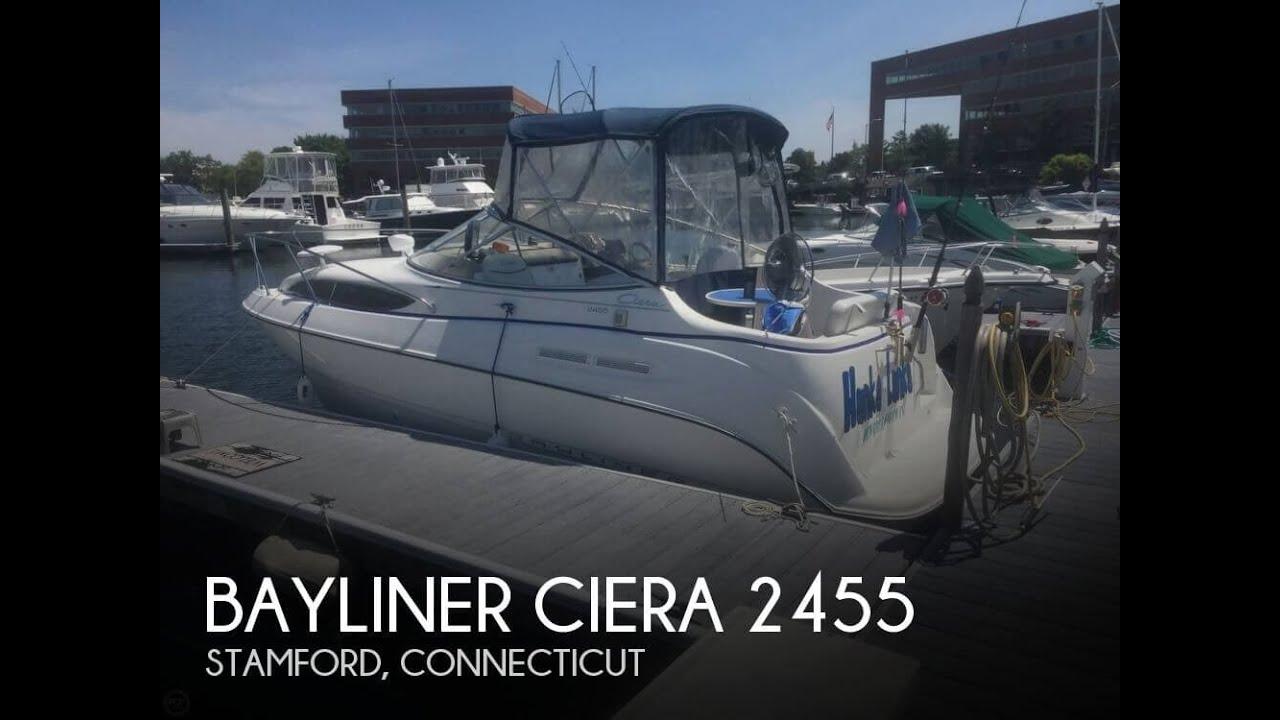 SOLD Used 2002 Bayliner Ciera 2455 In Stamford Connecticut
