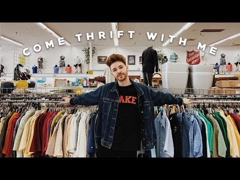 COME THRIFTING WITH ME  TRY ON HAUL ✨ Imdrewscott