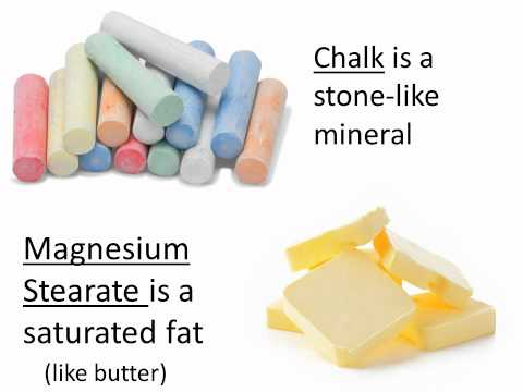 Magnesium Stearate - The Truth About Magnesium Stearate
