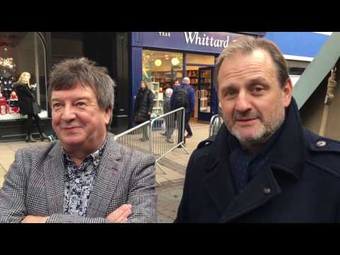 Mark Radcliffe and Stuart Maconie in York