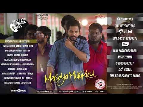 Meesaya Murukku Dialogue Ringtone Back #hiphop Tamizha