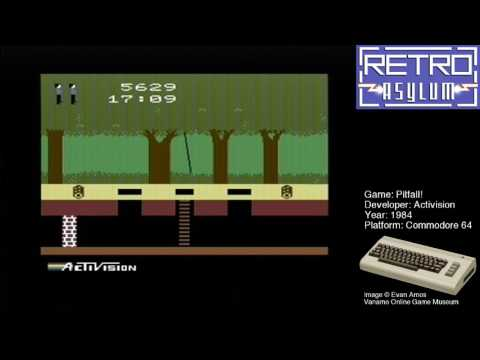 Twitch Archive: Pitfall!, C64