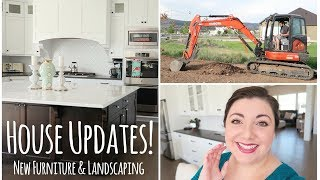 House Updates! New Furniture & Landscaping
