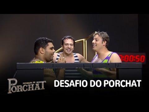 Fábio Porchat, Paulo Vieira e Cambota...