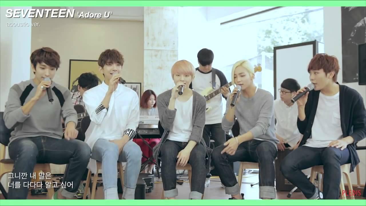 Image result for adore u vocal team version