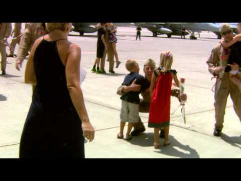 Naval Pilots Return to Lemoore
