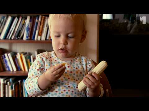 Babies | baby eating - clip US (2010) Hattie from San Francisco