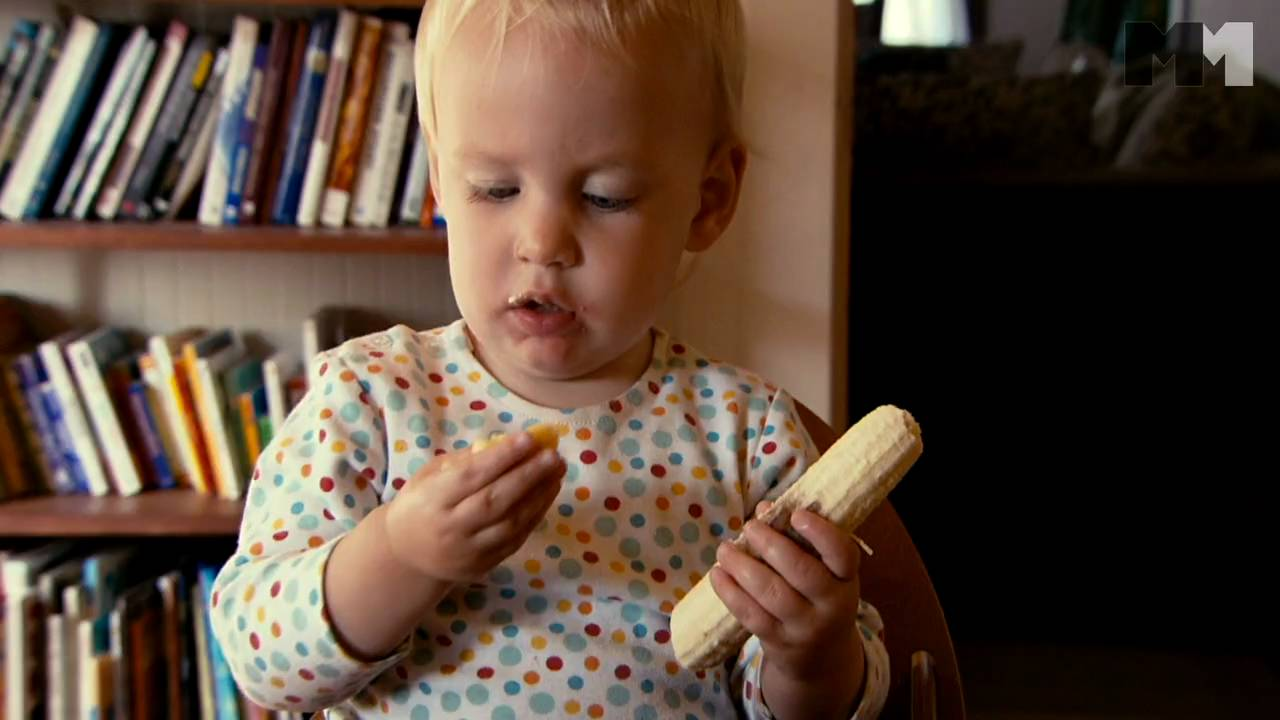 Balmes Babies | Baby Eating - Clip Us (2010) Hattie From San