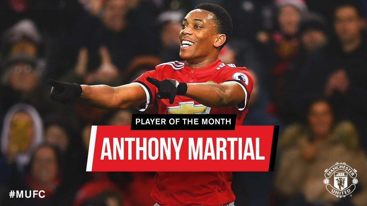 Phong độ của Anthony Martial trong màu áo của Manchester United mùa giải 2018/2019 HD
