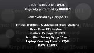 LOST BEHIND THE WALL - COVER VERSION
