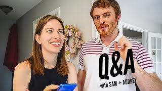 Audrey's Back!   Travel and Life Q&A While Cooking Korean Kimchi Fried Rice