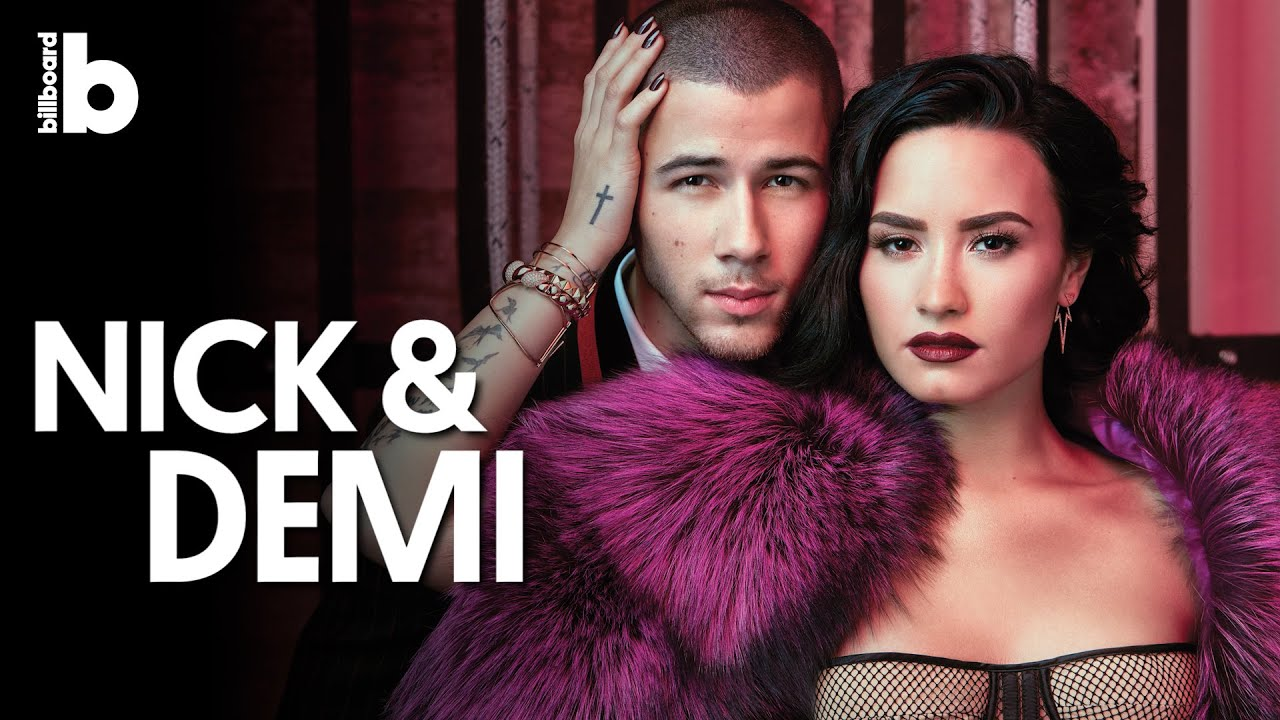 Demi Lovato Nick Jonas One Day In The Orpheum Theatre Behind The Scenes Billboards Cover Shoot Youtube