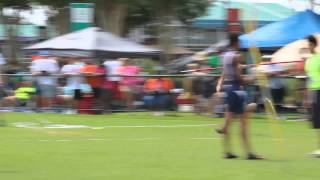 Alain Throwing the Javeline at AAU Club Nationals