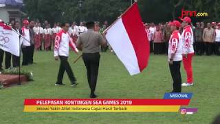Kontingen Indonesia Siap Tempur di SEA Games Filipina - JPNN.com