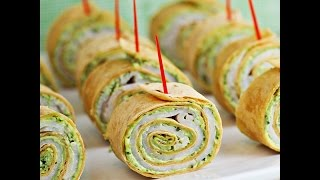 How to Make Party Pinwheels