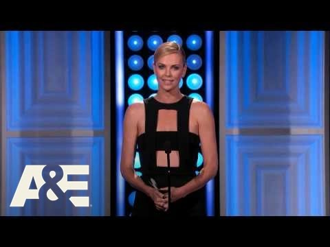 Charlize Theron Introduces Seth MacFarlane - 2015 Critics' Choice TV Awards | A&E