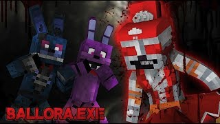 Minecraft .EXE - Ballora.EXE Attacks (Minecraft FNAF Roleplay)