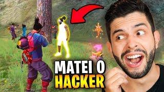 ELES VOLTARAM!!! MATEI O HACKER MAIS INJUSTO DO FREE FIRE!!!