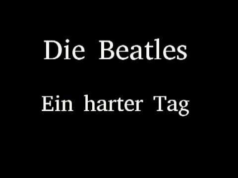 Die Beatles - Ein harter Tag (A Hard Days Night)