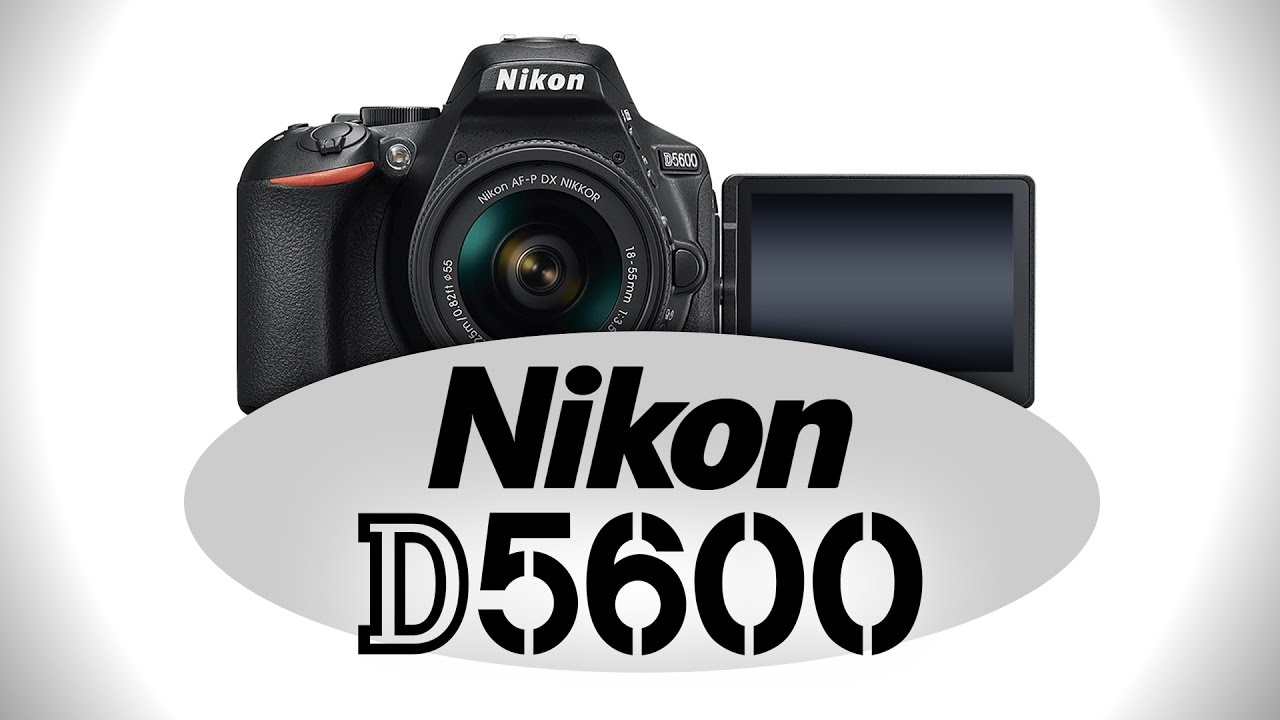 Nikon D5600 Digital SLR Camera Body - Refurbished