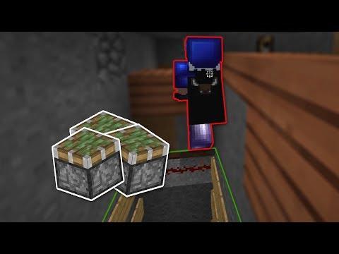 Sticky Piston Floor Plan Trap - Hypixel UHC thumbnail