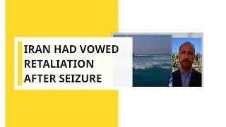 Iran had vowed retaliation after seizure