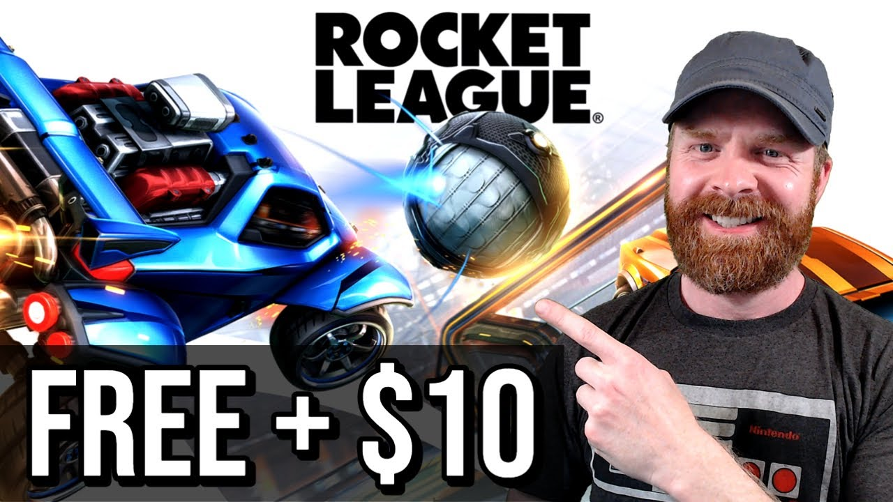 Rocket League is free from the Epic Games Store, and you'll get a ...