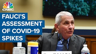 Dr. Anthony Fauci's blunt assessment of U.S. coronavirus spikes