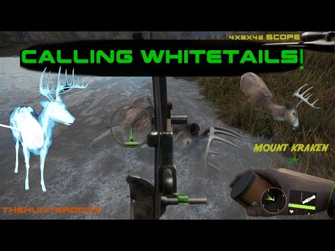 CALL OF THE WILD!!  *Calling Whitetails*  THEHUNTER 2017