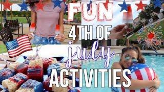 Fun 4th of July Activities! Treats, DIY