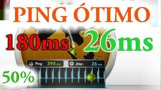 Como melhorar o PING da internet em até 50%