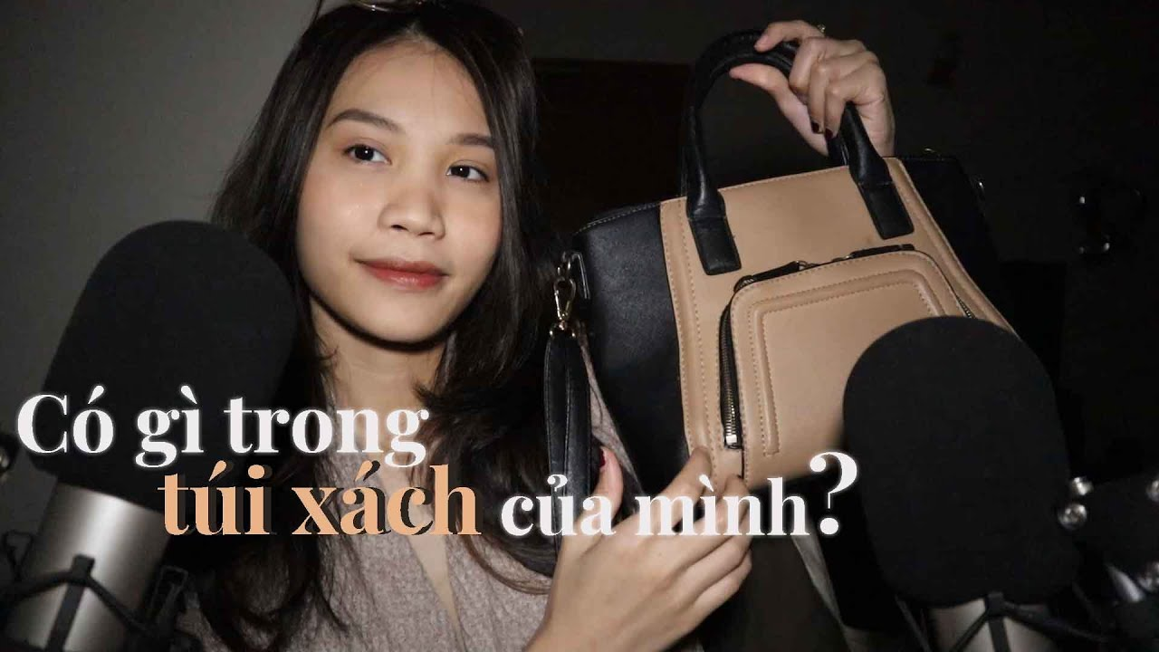 ASMR Có gì trong túi xách của mình?   What's in my bag?