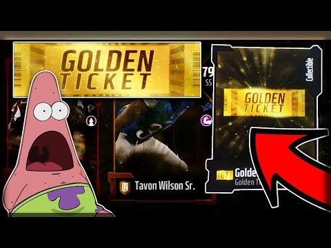 PULLING TWO MILLION COINS FOR GOLDEN TICKETS! 99 OVERALL PULL!!   MADDEN 18 ULTIMATE TEAM