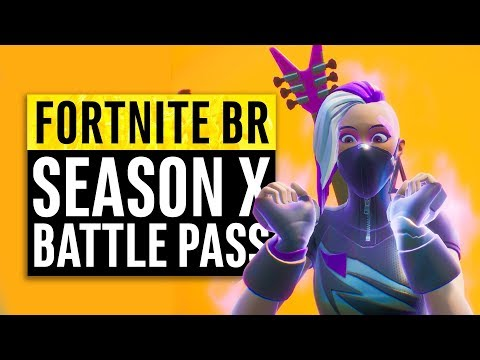 Fortnite | Season X Battle Pass Reactions (All Skins, Upgrades And Unlockables)