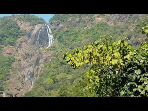 Dudhsagar waterfalls-Goa Trip