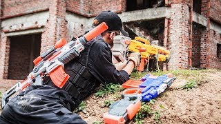 Download LTT Nerf War : Two Police Mission Nerf Guns   Seal X Attack Criminal Group Rescue Teammates Mp3 and Videos
