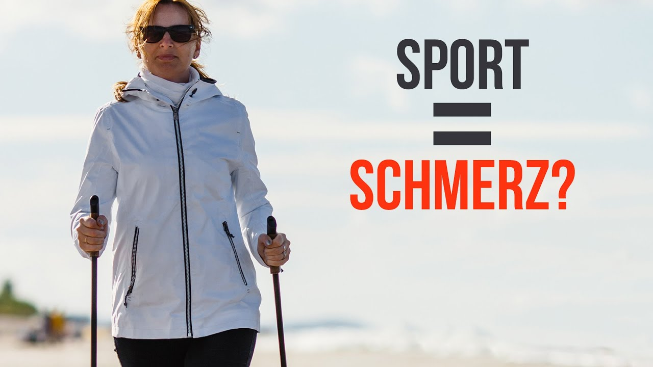 Viel Sport = Viel Schmerz (großer Irrtum)