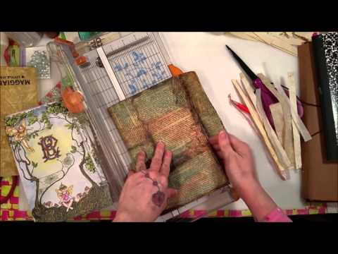 Tutorial: Making a Vintage Envelope Junk Journal - Part 2: The Signatures