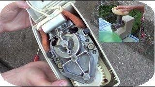электромясорубка ФЛОРА как разобрать, обзор