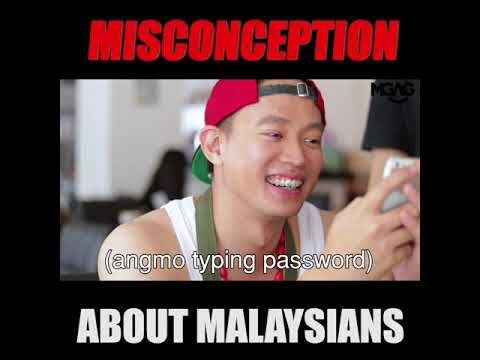 MISCONCEPTION ABOUT MALAYSIANS!