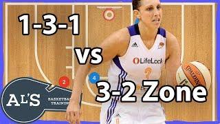 1-3-1 Basketball Plays vs 3-2 Zone